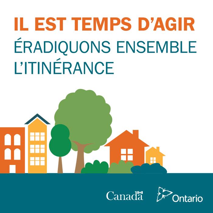 L'Ontario conseille vivement à ses partenaires d'aider à éradiquer l'itinérance maintenant