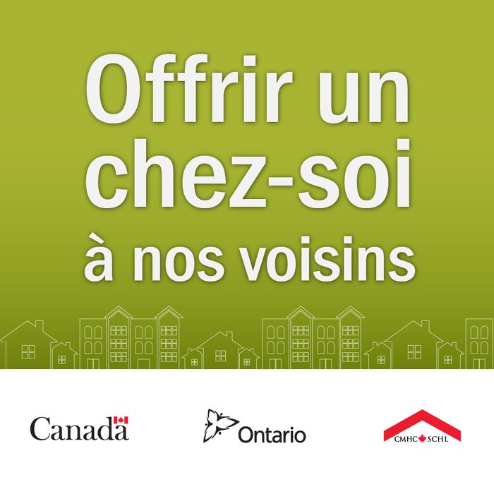 Les gouvernements du Canada et de l'Ontario annoncent le financement de logements abordables locatifs à Val Rita
