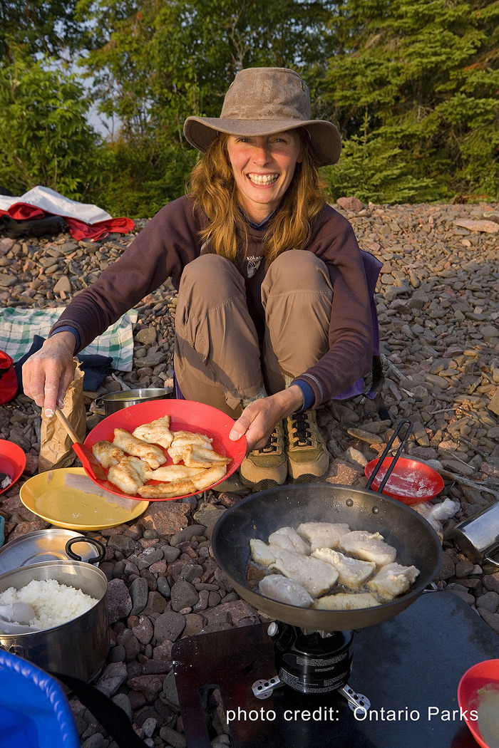 Camping and outdoor cooking are both exciting activities to enjoy in Algonquin.
