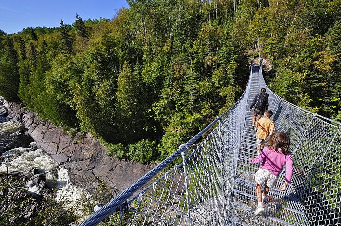 Explore a park and see the world from a new perspective. Credit: Ontario Tourism Marketing Partnership Corporation