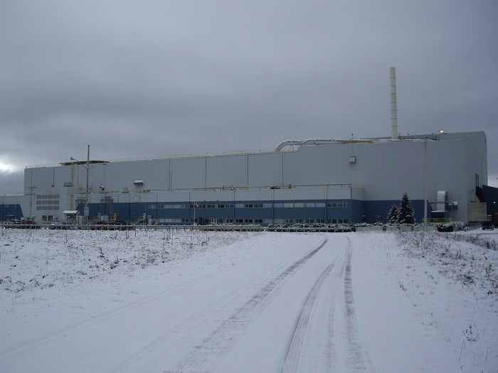 Wawa facility, currently Rentech's largest pellet plant