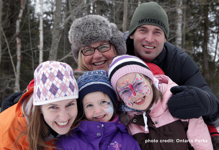 Family time at Ontario Parks (Photo Credit: Ontario Parks).