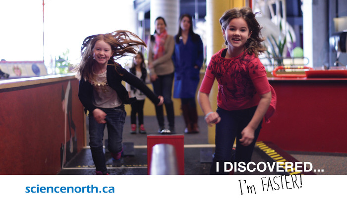 March break fun at Science North (Photo Credit: Science North)