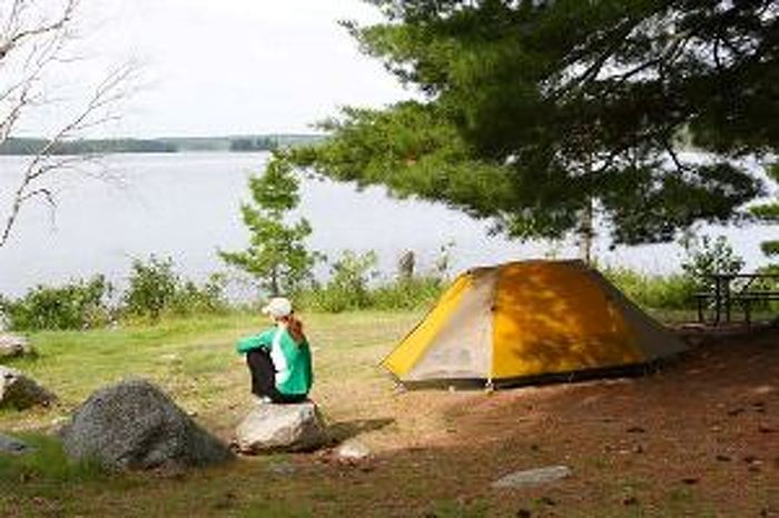 Campers will be able to put up their tents at Caliper Lake Provincial Park this year.