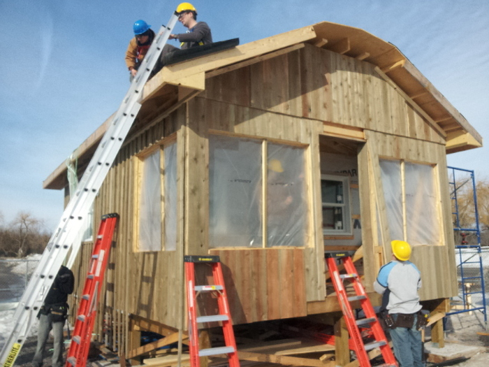 Bon Echo Cabin almost completed