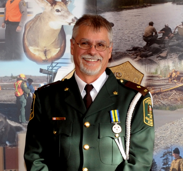 Stephen Emms is the 2014 Conservation Officer of the Year.