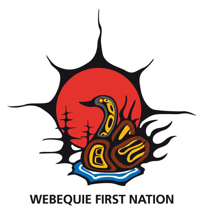 Webequie First Nation's logo