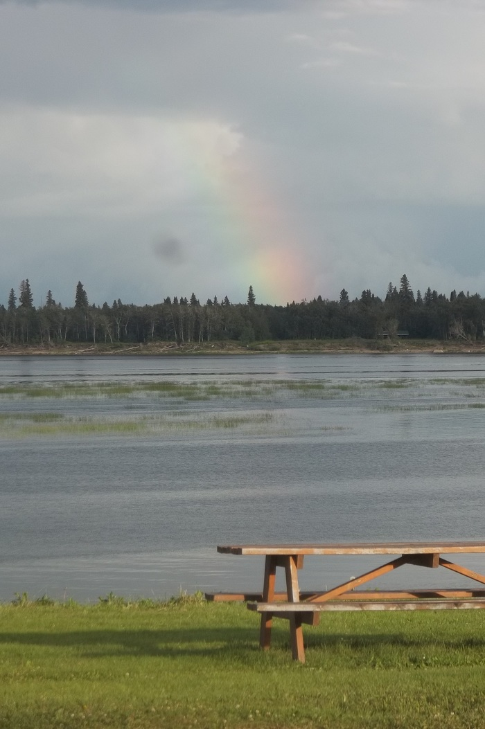 Tidewater Provincial Park is the pot of gold at the end of the rainbow for those who love northern camping