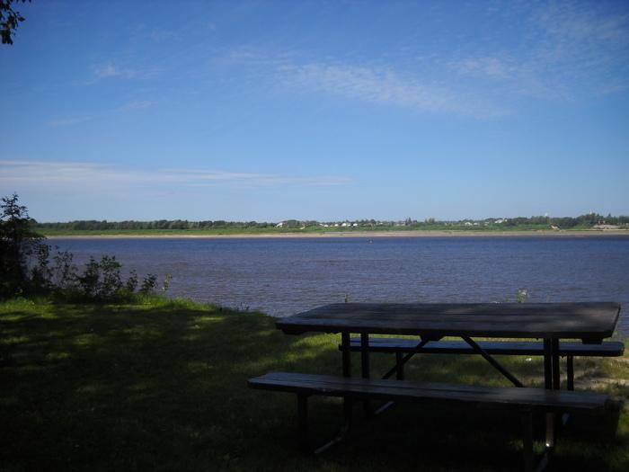 Tidewater Provincial Park boasts beautiful views