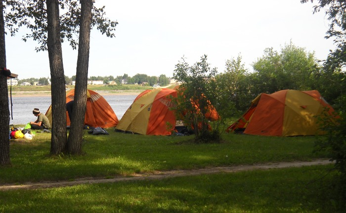 Tents will be up at Tidewater Provincial Park again this year