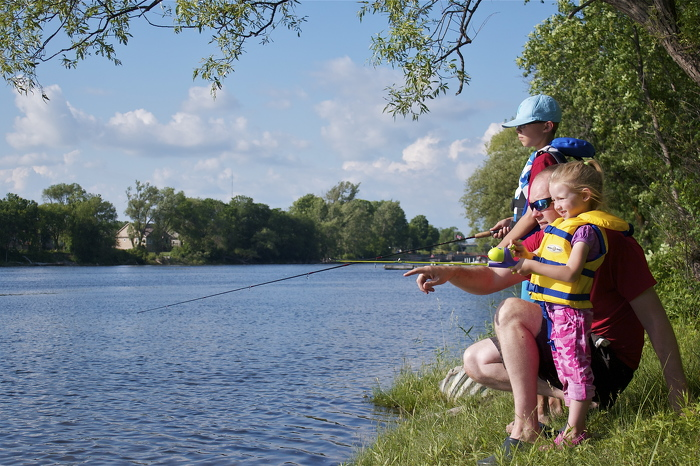Start a new family tradition. Canadians can fish for free July 4-12.