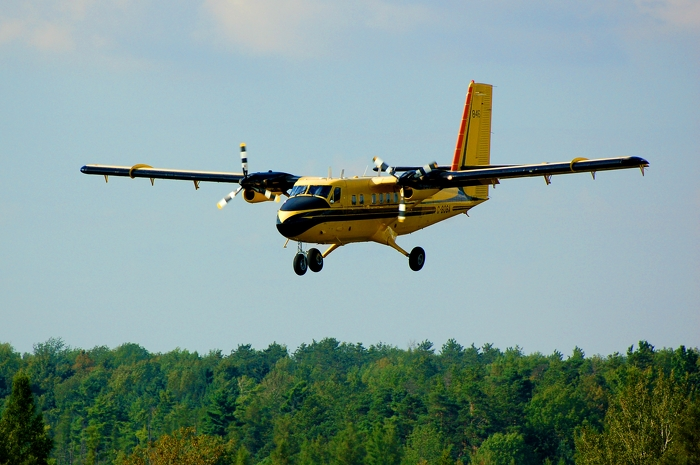 MNRF Twin Otter used for bait drop
