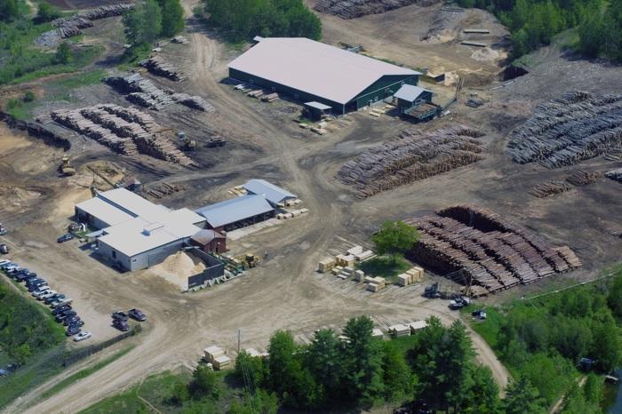 Heideman sawmill facilities