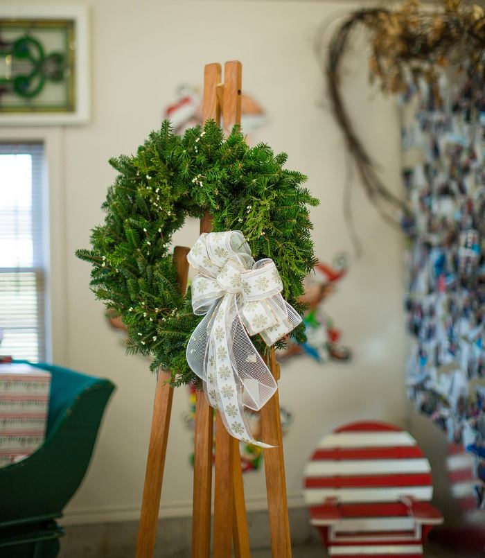 Ontario grown trees, garlands and wreaths create holiday magic indoors and out.