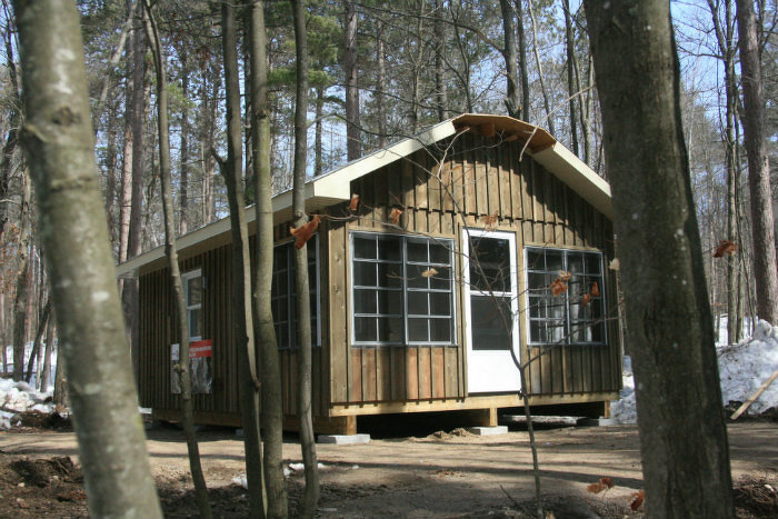 Cabane de Bon Echo terminée