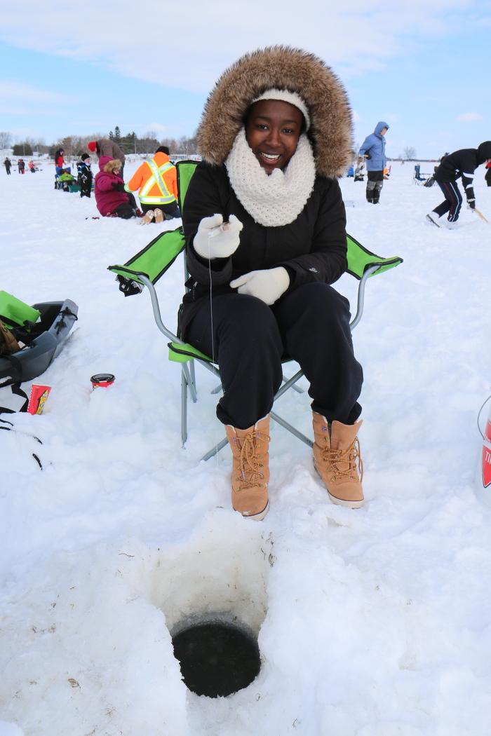 Laissez-vous prendre par la pêche sur glace