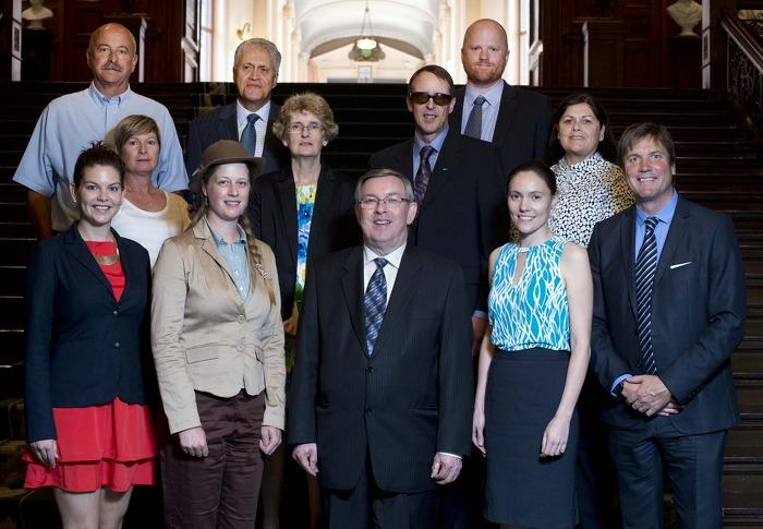 Lauréats du Prix ministériel d'excellence environnementale.