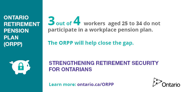 Ontario to Introduce Legislation to Strengthen Retirement Security