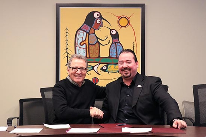 David Zimmer, Minister of Indigenous Relations and Reconciliation 