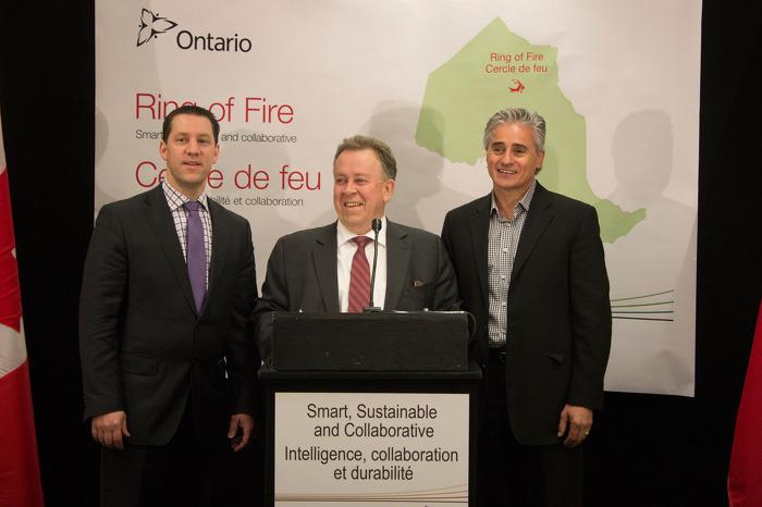 L'Ontario investit dans le Cercle de feu