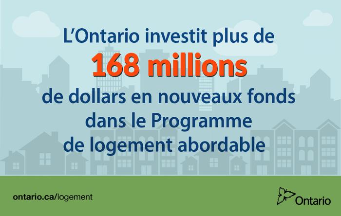 Les investissements dans l'infrastructure sociale renforcent les collectivités et stimulent l'économie de l'Ontario