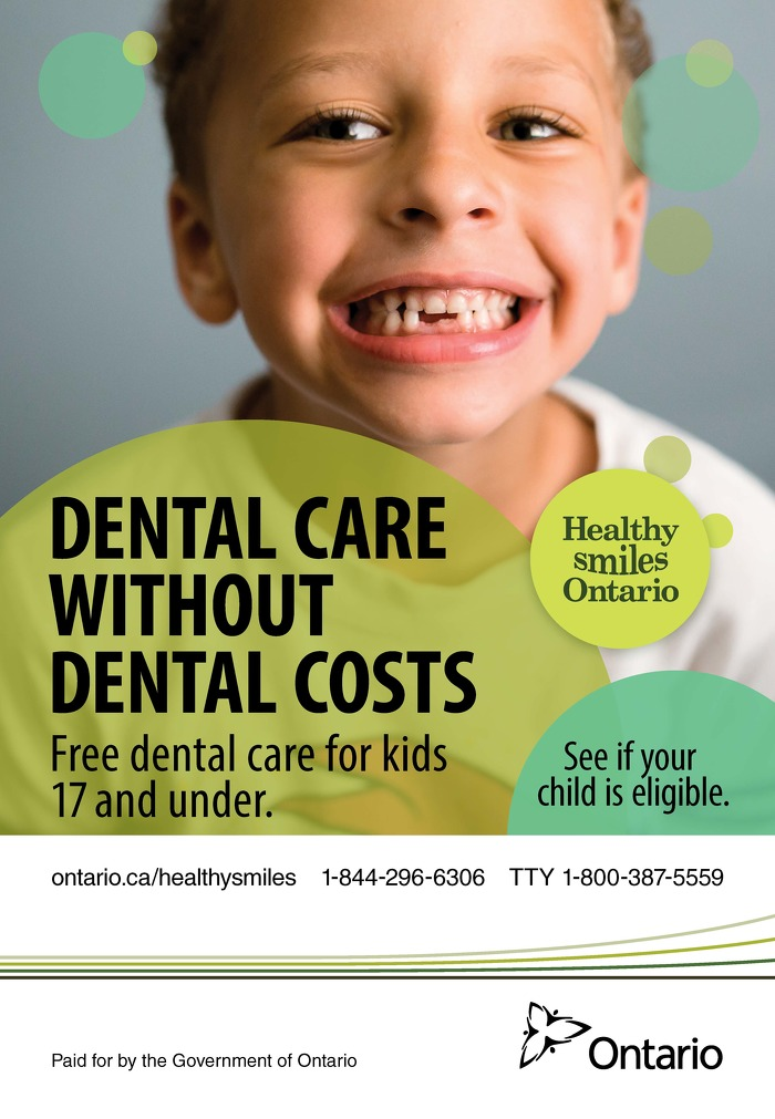 Dental care without dental costs