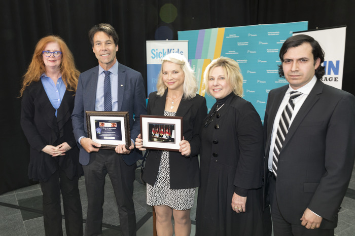 Minister Hoskins with stakeholders at the at the rare disease clinics event