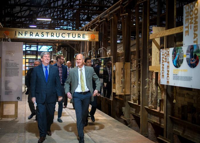 Renforcement de la planification de l'infrastructure à long terme