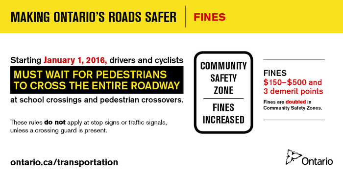 Making Ontario's Roads Safer: Fines