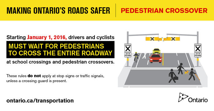 Making Ontario's Roads Safer: Pedestrian Crossover