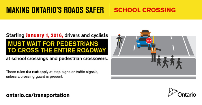 Making Ontario's Roads Safer: School Crossing