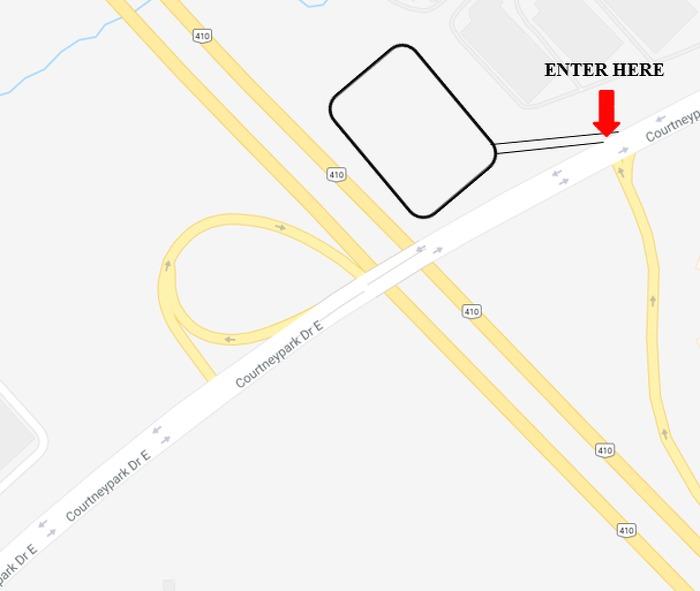 Highway 410/Courtneypark Drive Carpool
