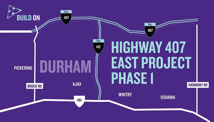 La première section de la nouvelle autoroute 407 ouvre bientôt