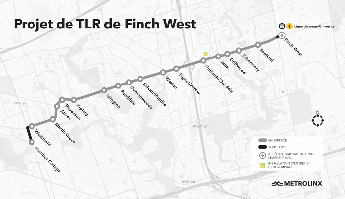 Projet de TLR de Finch West