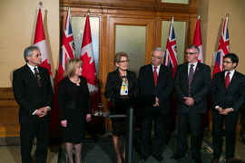 Changes to Ontario's Cabinet Image: Premier Kathleen Wynne announced changes today to her cabinet that will see two new ministers join the team.