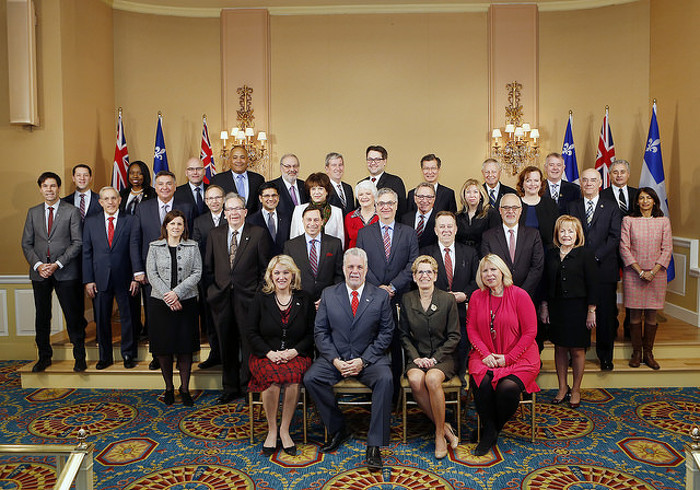 Ontario Premier Kathleen Wynne and Québec Premier Philippe Couillard and their cabinet ministers held a joint meeting in Toronto to take action on several key priorities for each province.