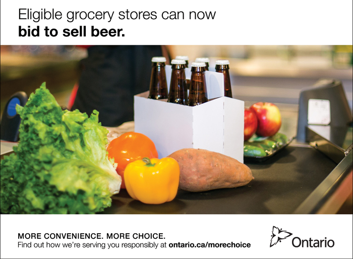 Province Takes Next Steps to Modernize Beer Retailing