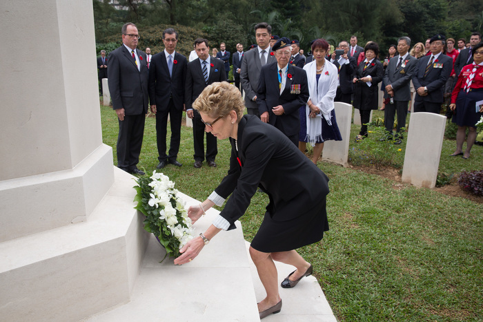 Ontario Honours Veterans and Soldiers