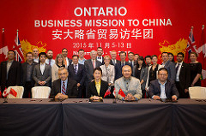 Premier's China Mission Generates $2.5 Billion in Agreements