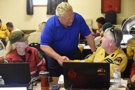 Premier Ford Visits Wildfire-Stricken Communities