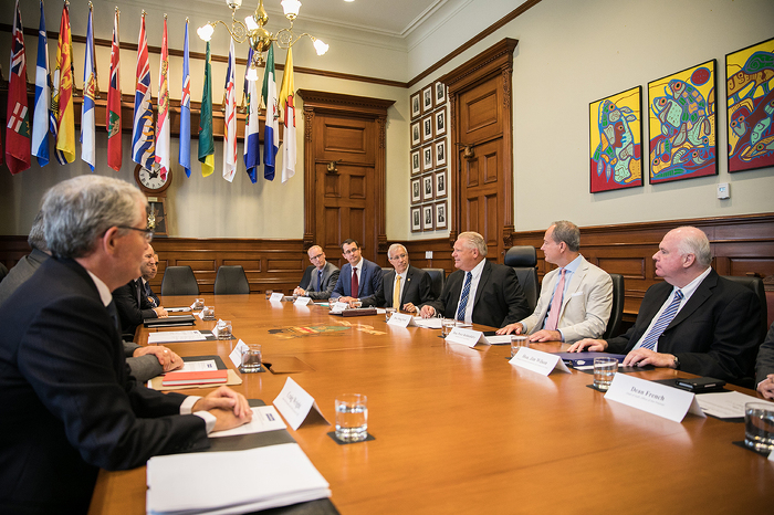 Premier Consults with Chief Economists of Canada's Five Largest Banks