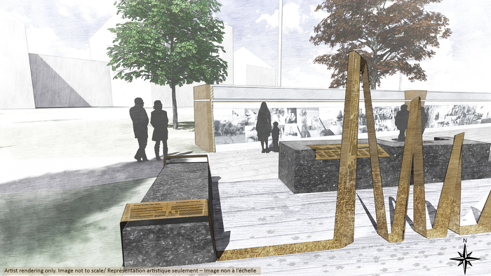 Design features of the Afghanistan War Memorial – Photo 3