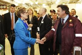 Faire progresser l'Ontario avec de nouveaux et importants investissements Image: La première ministre Wynne et le ministre Murray dévoilent un solide plan pour créer des emplois et moderniser l'infrastructure de transport.