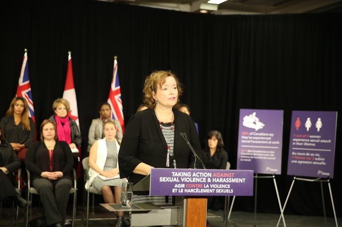 L'Ontario renforce les lois pour mettre fin à la violence et au harcèlement sexuels
