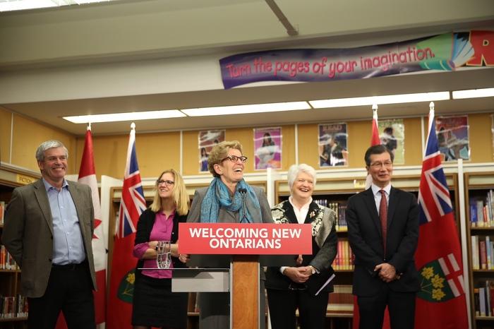 L'Ontario favorise l'établissement, l'intégration et la contribution des réfugiés