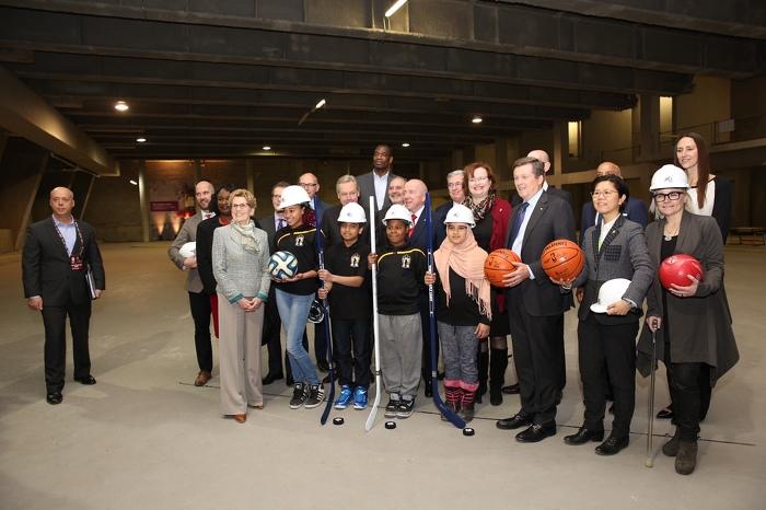 L'Ontario investit 1,6 million de dollars dans un centre sportif pour les jeunes à risque