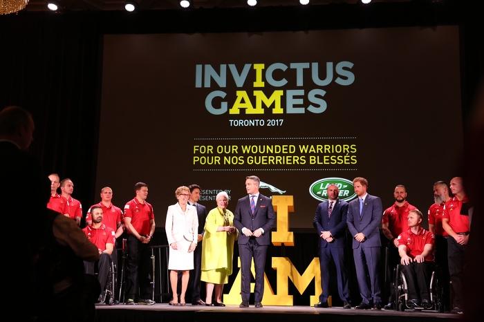 Toronto sera l'hôte des Jeux Invictus de 2017
