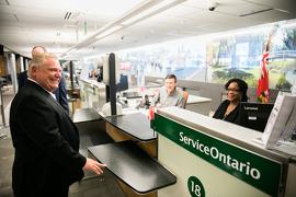 L'Ontario gèle la tarification pour les conducteurs