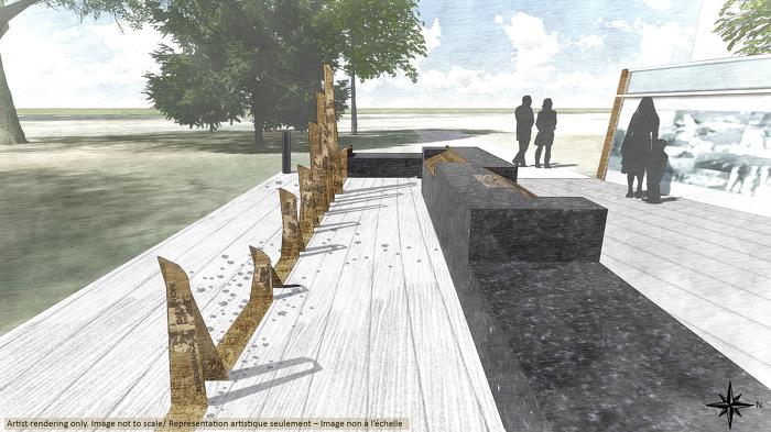 Conception du Monument commémoratif de la guerre en Afghanistan – Photo 2