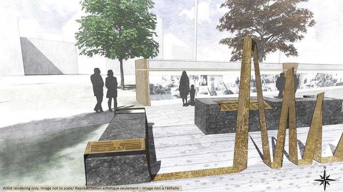 Conception du Monument commémoratif de la guerre en Afghanistan – Photo 3